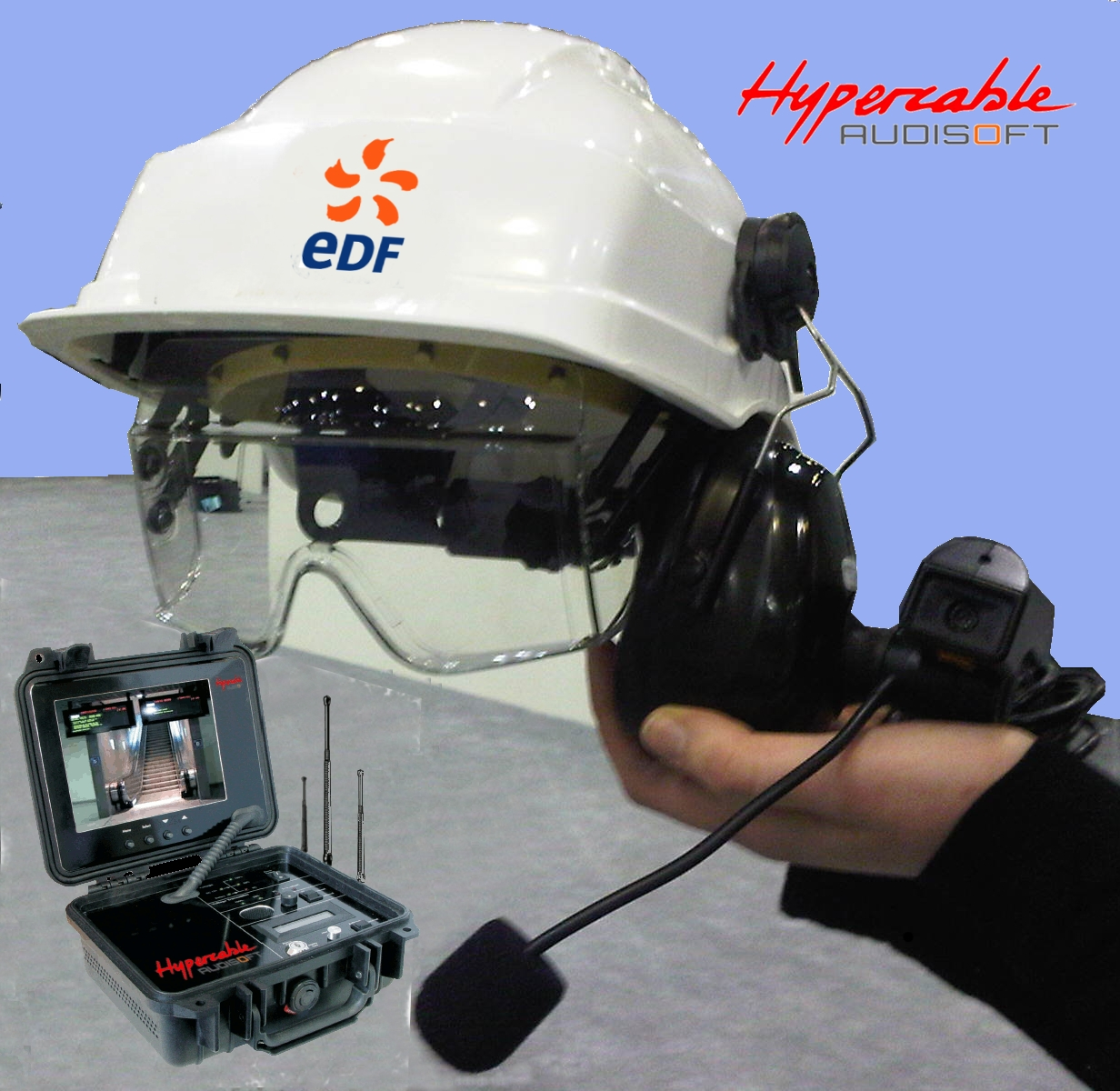 Helmet_body_worn_video_audio_full-duplex_EDF